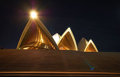 sydney opera house - surreal - by Chewy Chua