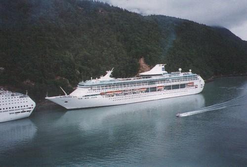 Turismo en crucero por Alaska