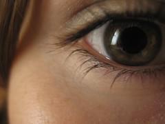 (Marchnwe) Tags: white eye me lashes hazel