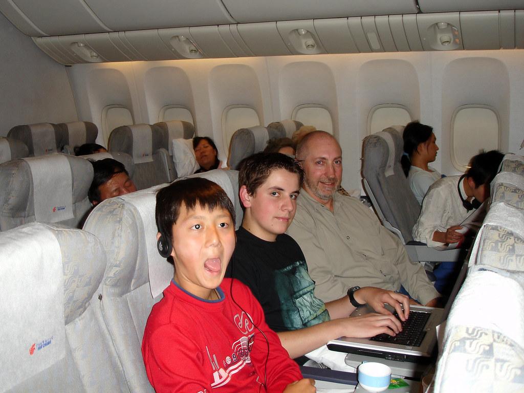 Flight to Shanghai