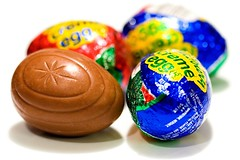 Cadbury Creme Eggs (Heather Leah Kennedy) Tags: food color easter colorful candy chocolate egg cadbury eggs cremeegg cadburycremeeggs cadburyscremeeggs cremeeggs creameggs