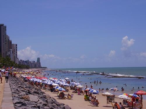 Playa Boa Viagem en Pernambuco