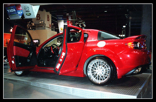 MAZDA RX-8 (Taipei International Motor Show),car, sport car