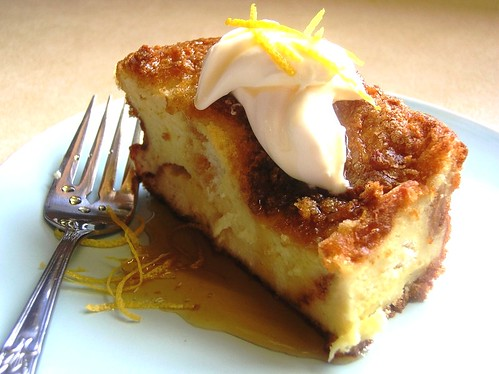 Lemony Bread-Pudding French Toast