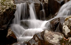 Waterfall in Shenandoah Nat'l Park (Mr. Physics) Tags: mountains nature water photography waterfall scenery time scene timeexposure waterscape rocksandwater shanandoah msoller cathypic