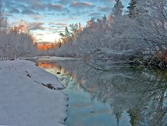 Morning Light (jack4pics) Tags: usa snow reflection alaska sunrise ilovenature spring searchthebest matsu naturescenes abw littlesuriver lovephotography specland abigfave avision superbmasterpiece
