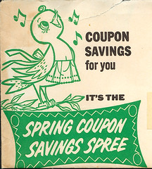 Coupon bird (wardomatic) Tags: bird illustration vintage ephemera coupon