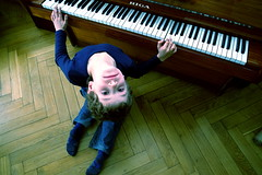 The piano is out of tune (rolands.lakis) Tags: boy portrait people musician music face kids eyes legs piano son lips latvia portret rolands lakis henrijs rolandslakis
