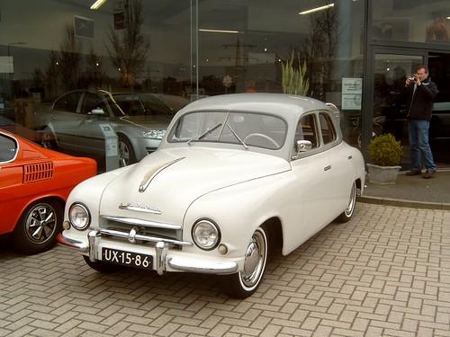 1954 model  Skoda 1200 .
