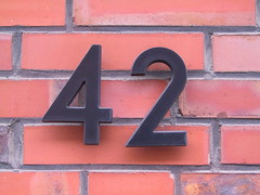 42 (gerriet) Tags: number 42 answer douglasadams emden 444v4f topvv444