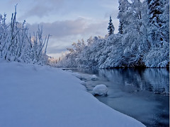 Morning View (jack4pics) Tags: snow alaska river ilovenature spring bravo matsu naturescenes littlesu