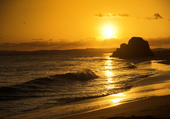 DON'T LET THE SUN GO DOWN ON ME (peke_cheeks) Tags: portugal 500v50f beachsunset alvor allthatglittersisgold thisisportugal specnature 1in10of50v