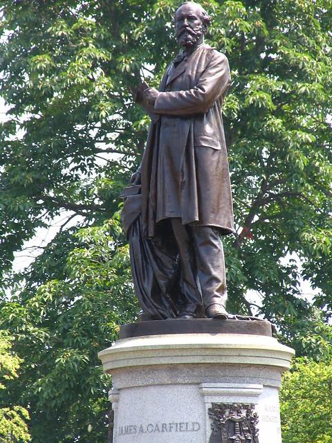 President James A. Garfield Statue