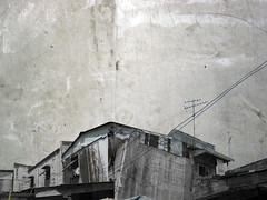 grungy neighborhood - by Stitch