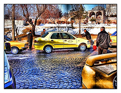 Taksi (eye of einstein) Tags: taxi turkiye toycamera babel taksi edirne pspx nothdr formerlyadrianople
