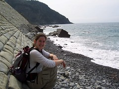 At the nude beach (1,619 views?!) (fleepy_99) Tags: beach nude cinqueterre nudebeach nonakedpeoplehere
