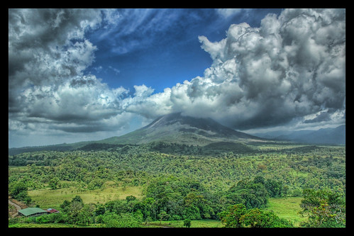 The Arenal Volcanic Plume