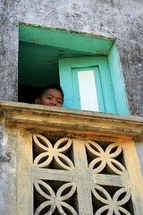 the youth of Batan (Farl) Tags: travel boy house color heritage home window colors coral stone youth philippines north culture portal lime glimpse portals batanes chinito ivatan sabtang savidug