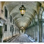a Corridor in Venice