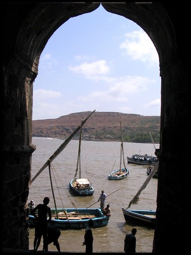 Looking out of Janjira