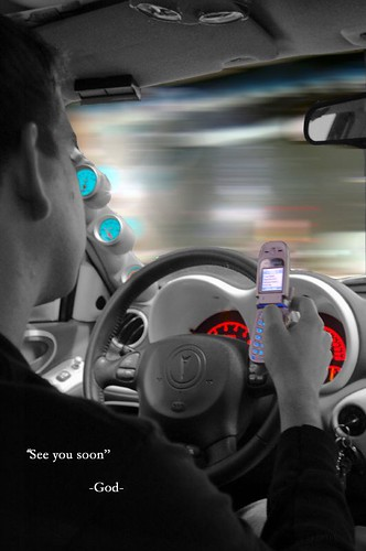 Flickr: Cell phones while driving