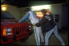 Under Arrest (jetrotz) Tags: film night screensaver police drugs savannah portfolio trap undercover
