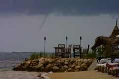 Waterspout (jetrotz) Tags: storm weather clouds geotagged screensaver florida keywest swimsuit tornado waterspout ✔ geo:lat=24623524 geo:lon=81400956
