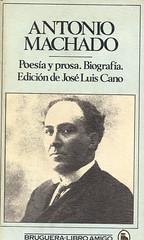 Antonio Machado, Poesía y prosa. Biografia
