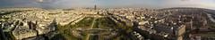 Eiffel Tower Panorama East side (perspective-OL) Tags: shadow mars paris de frankreich tour champs eiffel 2006 du danny april eiffelturm montparnasse avril parc schatten frace 20060429