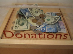 Donations by Matthew Burpee, on Flickr