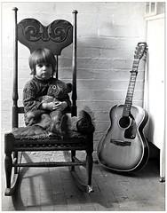 Seth and guitar 1971