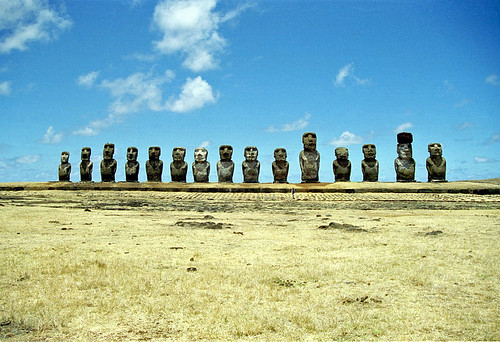 Ahu Tongariki - Easter Island by Ik T