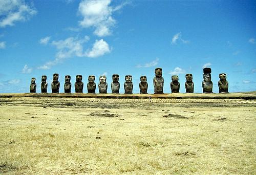 Ahu Tongariki - Easter Island by Ik T