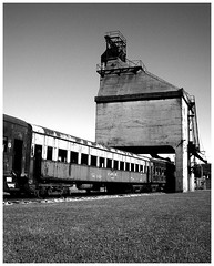La Carbonera (/mrpunto) Tags: chile old blackandwhite bw museum train tren trenes interestingness coach railway trains bn museo carbon neruda temuco vagon antigedad interestingness458