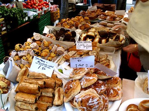 market place in london