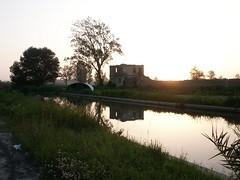 Quietness (ACPinho) Tags: sunset portugal water reflections minolta aveiro 1on1 thisisportugal estarreja