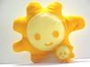 Mr. Sun & Mini Sun (Warm 'n Fuzzy) Tags: summer orange sun cute yellow toy happy craft felt softie kawaii plushtoy warmnfuzzy warmnfuzzynet