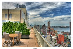 From the Roof Top (Arnold Pouteau's) Tags: nyc newyork rooftop downtown manhattan hudsonriver hdr f25 newyorcity 50ms