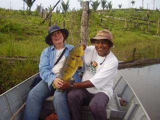 Pescaria em Tucuruí