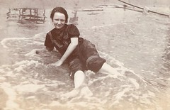 Bessie Stewart's First Time in the Ocean 1912 - Coney Island (Pixel Packing Mama) Tags: people sepia coneyisland idplease oldpictures sillygoose oldphotos snapgame naturalight artnolimits vintagekids peopleportraits trippypix vintagevacations oldiesbutgoodies howthingswereintheoldendays pixelpackingmama sepiaset dorothydelinaporter worldsfavorite cameraactionnotastilllife historicandoldphotos wateroceanslakesriverscreekspool oldphotosandgoodoldmemories tweensteens enjoylifehumorpixpool pictureswithstories5sentenceminimumpool ilovetheoceanpool bonzag favoritedpixset mostinterestingaccordingtoflickralgorithmset whowasbessiestewartofkansascity 100yearsoldpool uploadedfirsthalfof2006set update4sure watchfor2000 update4sureset pixelpackingmama~prayforkyronhorman oversixmillionaggregateviews over430000photostreamviews