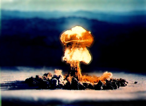 Image of Nuclear Mushroom Cloud