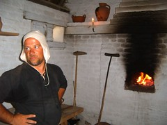Belgian Baker (tessaincali) Tags: portrait history tag3 taggedout work tag2 tag1 baker belgium medieval tradition