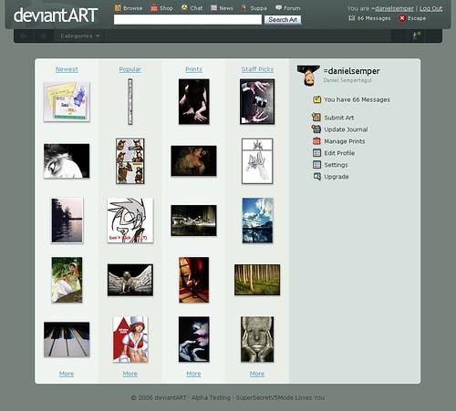 DeviantArt estrena nueva cara: v5