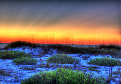 HDR N3 (worldwidewandering) Tags: light sunset usa beach water night 1025fav america rocks 500v20f tampabay florida indian united experiment indianrocksbeach nikond50 states hdr 1on1 25fav photomatix thecontinuum i500 500view 123sky tophdr 123ac worldwidewandering