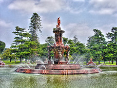 fountain of love (Kris Kros) Tags: california ca blue usa cloud tree green love public water fountain statue cali photoshop photography la us losangeles interestingness high cool interesting nikon pix day dynamic cs2 mother bluesky ps explore socal kris burbank range hdr mothersday jjj kkg fountainoflove 3xp photomatix pscs2 kros kriskros explorefrontpage kk2k kkefp kkgallery