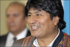 Evo Morales es candidato para el Nobel de la Paz 2007