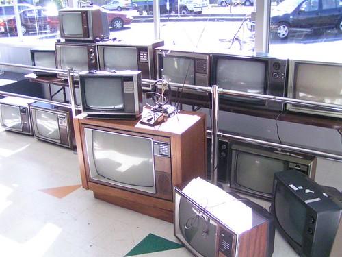 televisions in the sun ballard goodwill 05 14 06 a photo on
