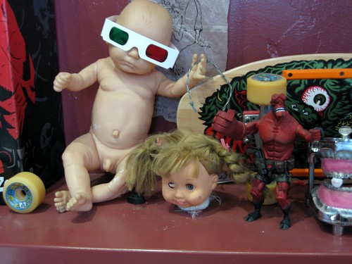 Toys at Black Heart Tattoo
