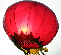 Red Balloon 2 (Heaven`s Gate (John)) Tags: china red vacation sky sun color colour beautiful wow bravo balloon chinese creative greatwall lantern redballoon heavensgate johndalkin