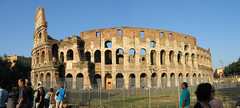 Coliseo panoramica (Paco Guerrero Roldn) Tags: rome roma art archaeology arquitectura arte roman colosseum coliseo gladiator anfiteatro gladiadores arqueologa amphitheatrum